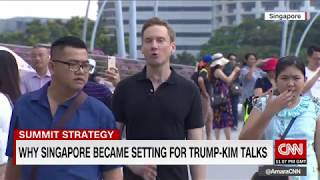 [HD] CNN : Why Singapore was chosen for Trump Kim summit 6/5/2018 4:45 PM PDT