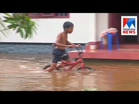 Heavy rain cause house flooding in Kuttanad  | Manorama News