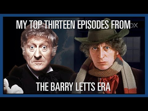 Custom Who - Episode 33 - My Top Thirteen Episodes From The Barry Letts Era