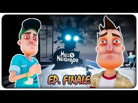 SCONTRO FINALE CON L'UOMO OMBRA (finale - gioco completo)   Hello Neighbor [ITA]