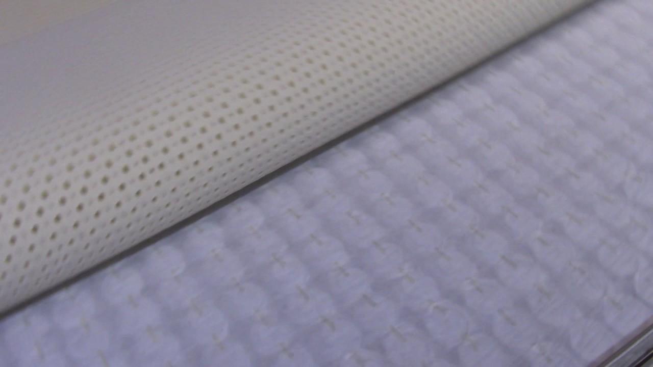 Talalay Latex Matras : Eco sleep hybrid mattress with pocket coil and talalay latex youtube