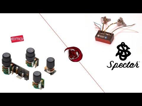 Bass preamp's comparison test - EMG BQC vs Spector TonePump