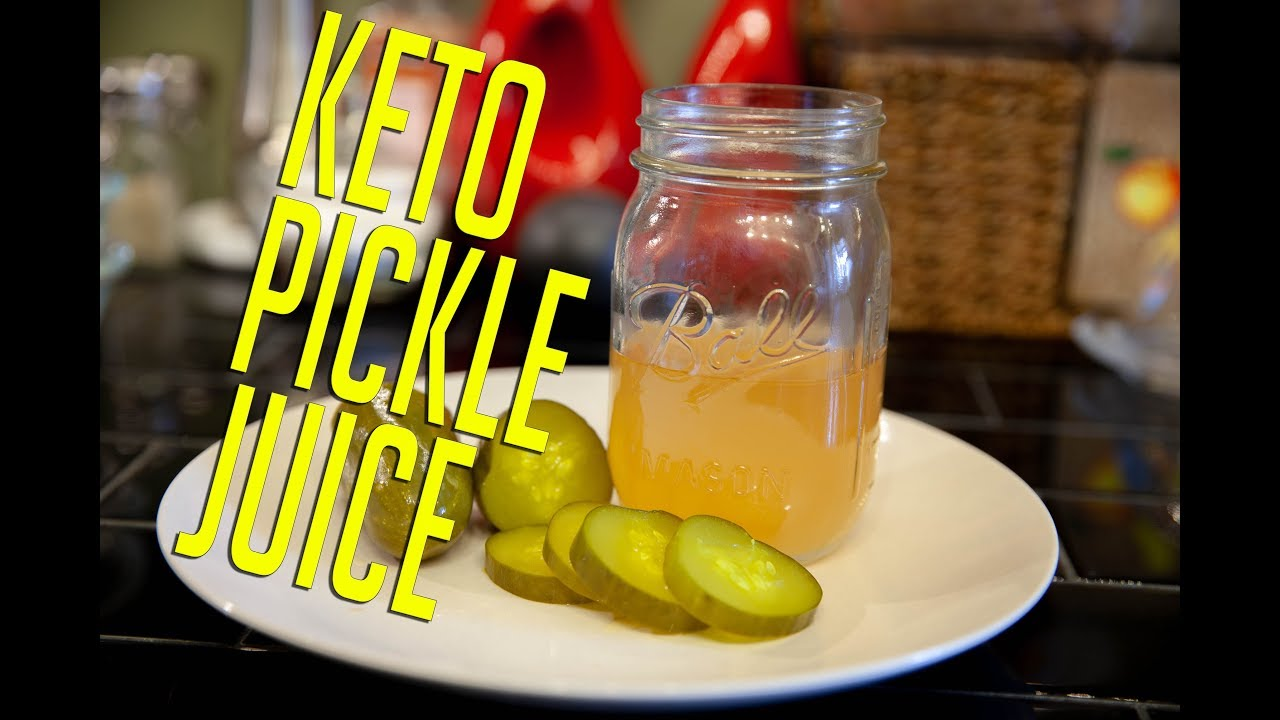 Keto Pickle Juice