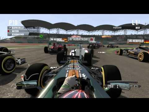 F1 2011 Gameplay i5 2500k + GTX 560 Ti + 4GB RAM HD