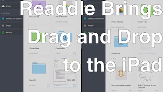 Readdle Brings Drag and Drop to the iPad