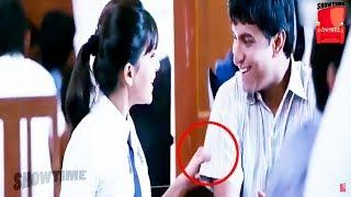 Nani And Samantha Cute Movie Love Scene   Telugu Videos   Show Time Videos