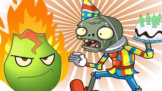 Plants vs. Zombies 2 6th Birthdayz - Lava Guava 6 Tile Turnips Powerup