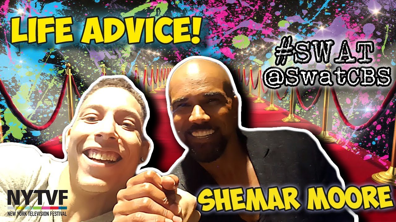 Shemar moore from criminal minds gave me advice new york tv shemar moore from criminal minds gave me advice new york tv festival swat season premiere kristyandbryce Image collections