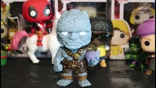NYCC 2018 KORG WITH MIEK FUNKO POP EXCLUSIVE MARVEL THOR RAGNAROK NEW YORK COMIC CON  #NYCC
