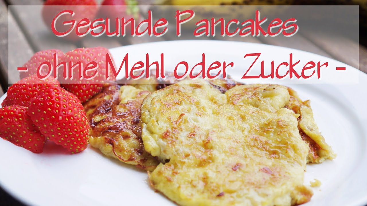 low carb pancakes 2 zutaten banane ei ohne mehl zucker youtube. Black Bedroom Furniture Sets. Home Design Ideas