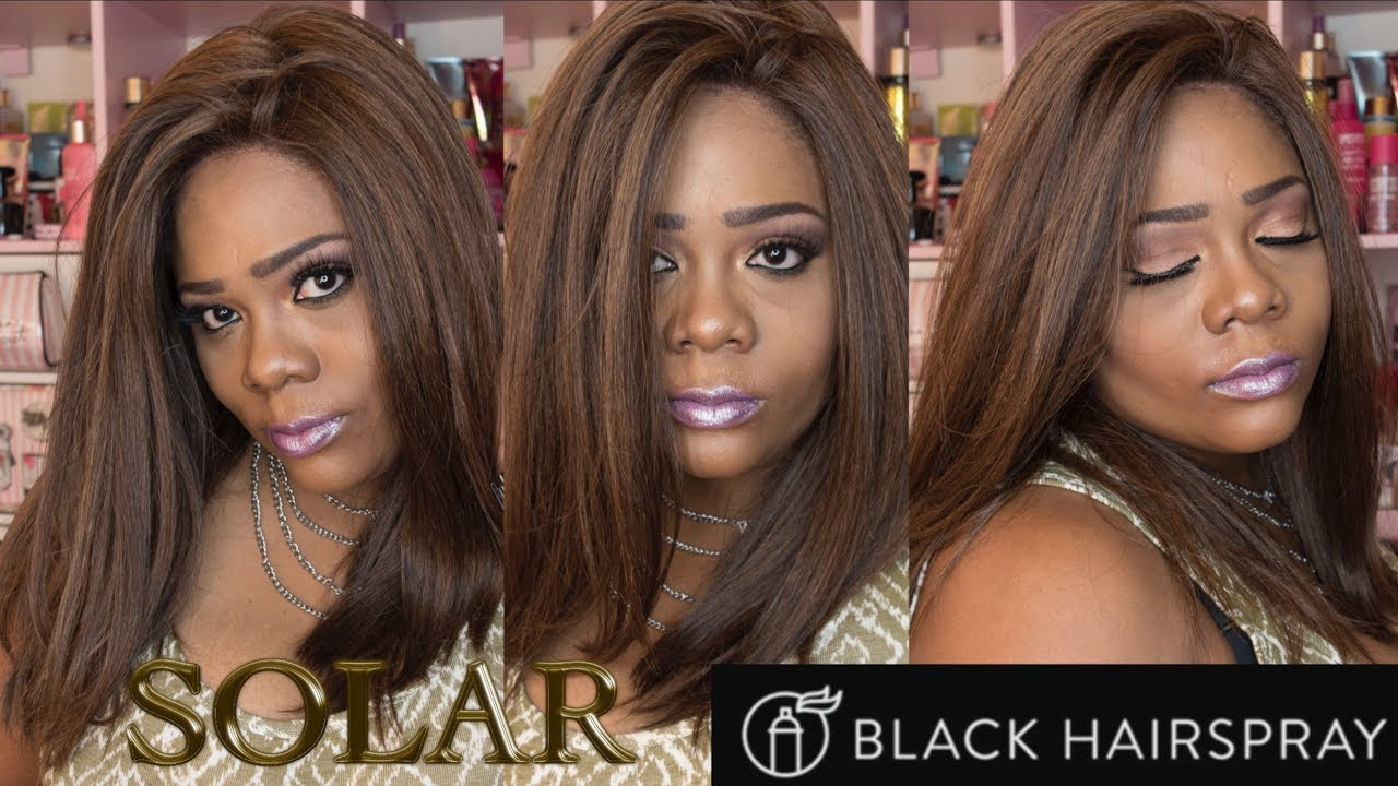 It S A Wig Solar Hm4 27 30 Review Blackhairspray Com Youtube