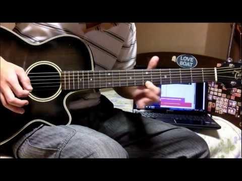 Shakugan no Shana III Final OP - Light My Fire guitar cover (overdub)