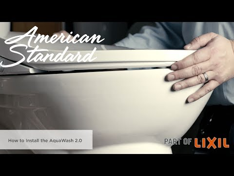 How To Install The AquaWash 2.0 SpaLet Bidet Seat By American Standard