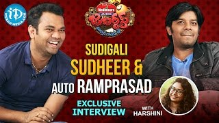 Jabardasth Sudigali Sudheer & Ram Prasad Exclusive Interview || Talking Movies With iDream #271