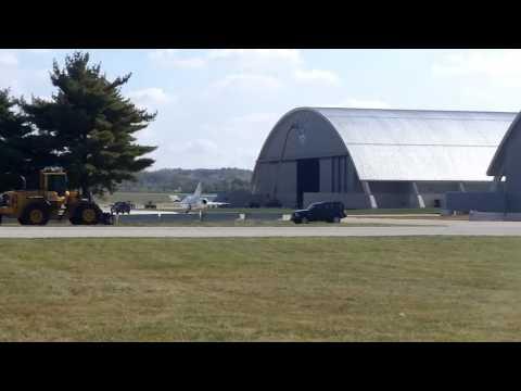 NMUSAF 4th Hangar Move - Tacit Blue Entering 4th Hangar