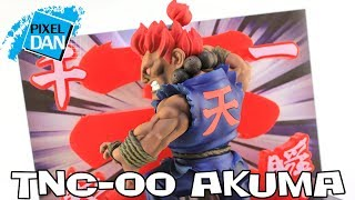 Street Fighter Akuma TNC-00 BigBoysToys Figure with Display Base Video Review
