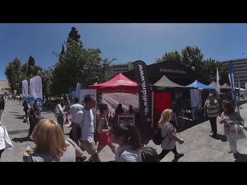 2nd Athens Bike Weekend- Syntagma sq. event