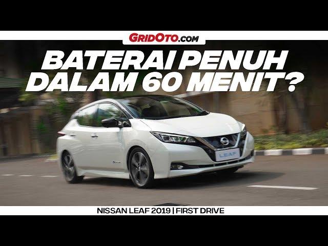 Nissan Leaf, Mobil Listrik Pertama Nissan Dijual Tahun 2020 | First Drive | GridOto