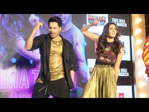 Tamma Tamma Again Song Launch Full Video | Varun Dhawan, Alia Bhatt | Badrinath Ki Dulhania