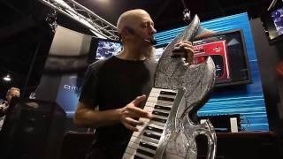 Jordan Rudess plays Trilian + Omnisphere Resimi