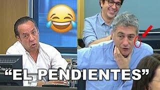 """El Bigotes SE ENFADA con un diputado de BILDU: """"Yo a usted no le llamo EL PENDIENTES"""""""