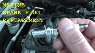 Nissan Maxima / Infiniti Spark Plug Replacement with Basic Hand Tools HD