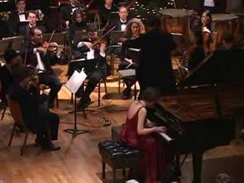 Nadejda Vlaeva - Chopin Grand Polonaise, with orchestra