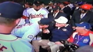 Ted Williams Asks Mark McGwire If He Smells Burnt Wood