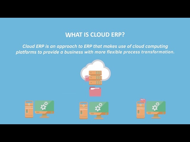 What is Cloud ERP? Find out in 60 seconds!