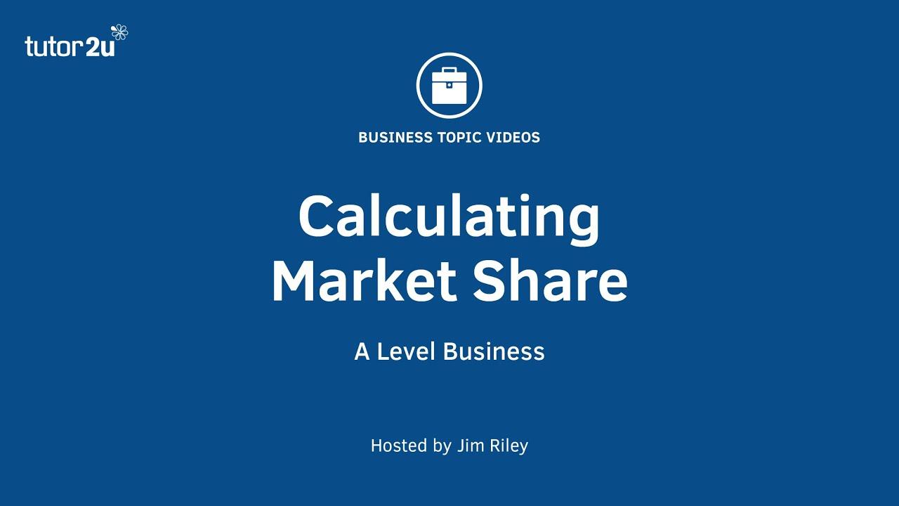 Calculating market penetration suggest