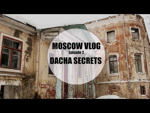 MOSCOW VLOG | EXPLORING ANCIENT MANOR