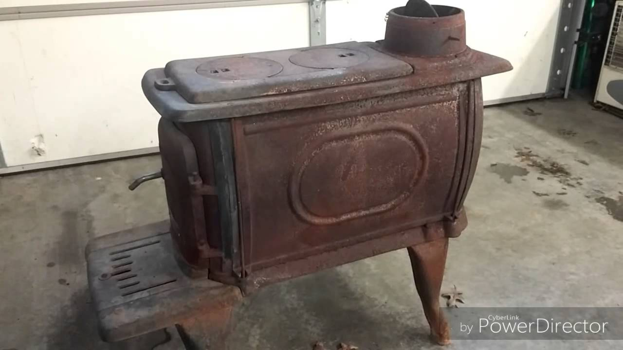 How I refinished a rusty wood stove - How I Refinished A Rusty Wood Stove - YouTube