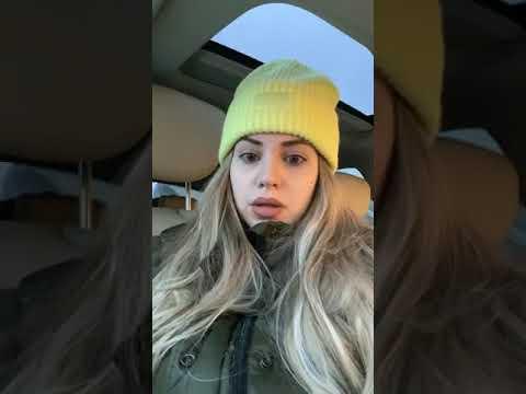 Саша Артемова в прямом эфире 24.01.2020. Довольная, счастливая..вот что цвет волос делает с женщиной