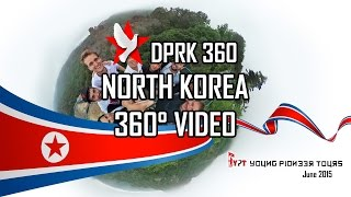 North Korea 360 Video ( Young Pioneer Tours - 2015 June Tour )