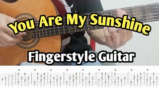 You Are My Sunshine -  Fingerstyle Guitar
