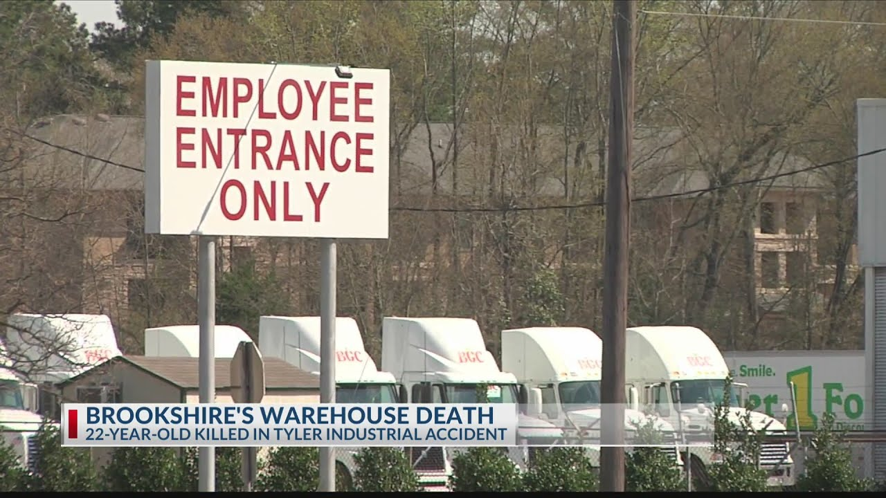 Man Killed In Industrial Accident At Brookshires Warehouse On