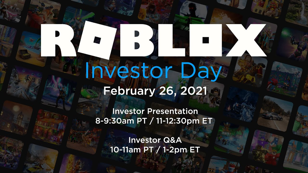 Roblox Investor Day