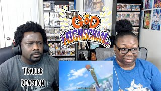 The God of High School | OFFICIAL TRAILER {REACTION!!}