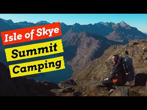 Landscape Photography & Wild Camping on Sgurr na Stri, Skye