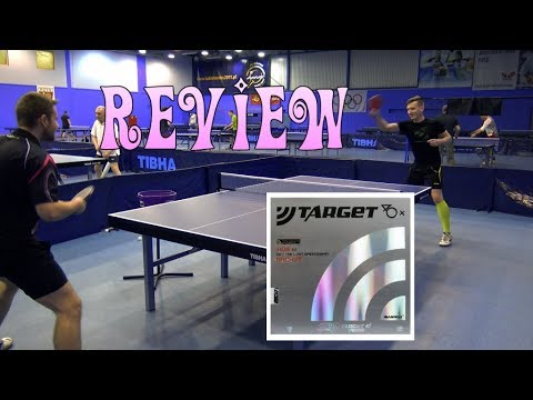 Review Sanwei Target Europe 40+ [table tennis experts]