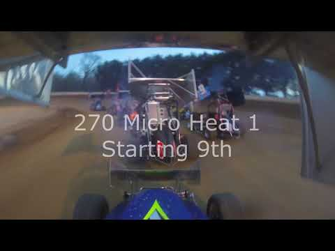 Greenwood Valley Action Track April 27th 2019 270 Micro Racing