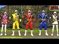 Power Rangers Ninja Steel Toy Animation
