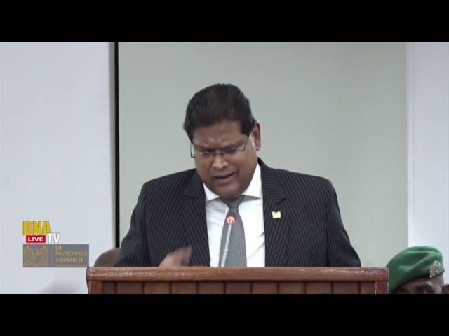"""President Santokhi """"A-Nationalisten willen beleid tenietdoen"""" STVS JOURNAAL 26 februari 2021"""