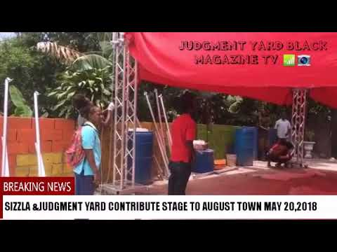 SIZZLA KALONJI CONTRIBUTE STAGE TO AUGUST TOWN