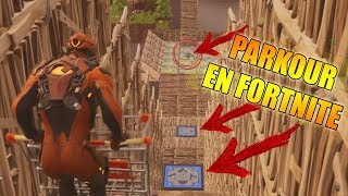 Parkour en FORTNITE - PATIO DE JUEGOS!!