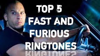 FAST AND FURIOUS RINGTONE COLLECTION | DOWNLOAD LINK |