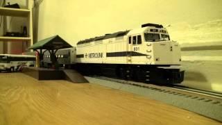 o scale njtransit round trip with bn locomotive 6659