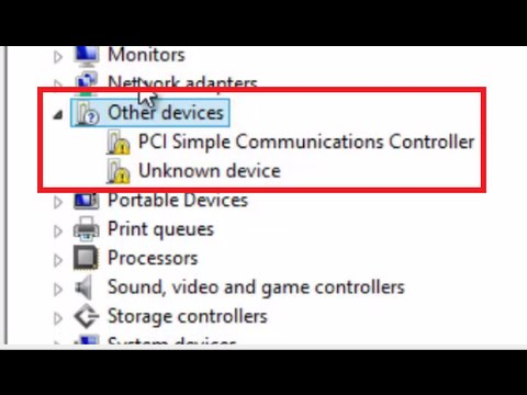 controleur pci de communications simplifiées hp windows 7