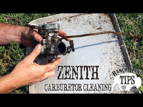 Carburetor Cleaning - Rust Bucket Rehab - YouTube