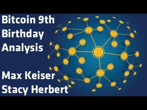 """""""Bitcoin 9th Birthday Analysis"""" - Max Keiser & Stacy Herbert"""
